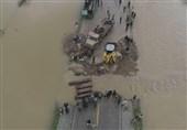 چگونه خطر وقوع سیل مجدد در آققلا توسط سپاه برطرف شد؟ + فیلم