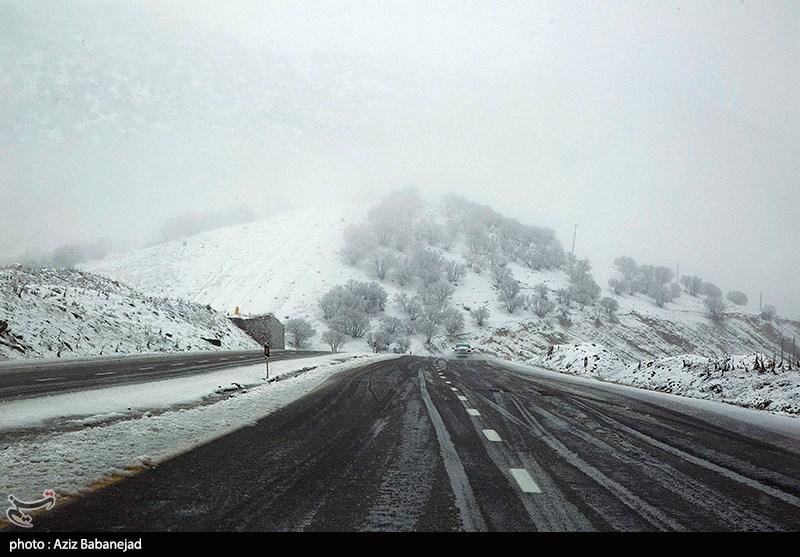 آخرین وضعیت راهها| برف در برخی محورها/ ترافیک در 2 آزادراه