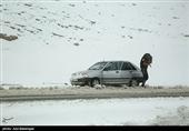 آخرین وضعیت راهها| برف در برخی محورها/ کولاک در جادههای استان سمنان