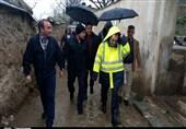 استاندار تهران در بازدید از دره فرحزاد: مردم از توقف در رود درهها خودداری کنند+ تصاویر