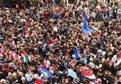 سوریا.. وقفات احتجاجیة تندیداً بقرار الرئیس الامریکی حول الجولان+صور