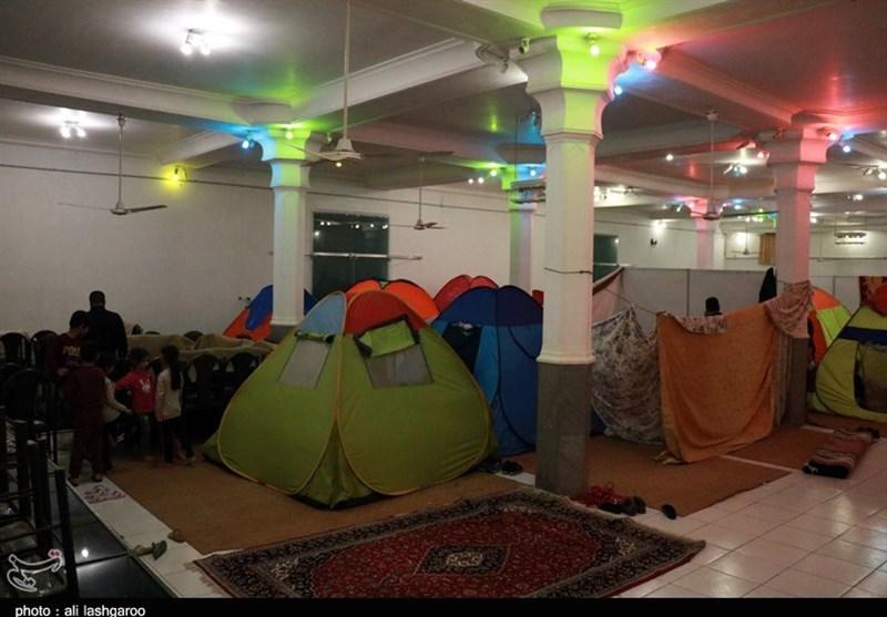 تعداد اردوگاههای اسکان اضطراری در خوزستان به 26 محل رسید