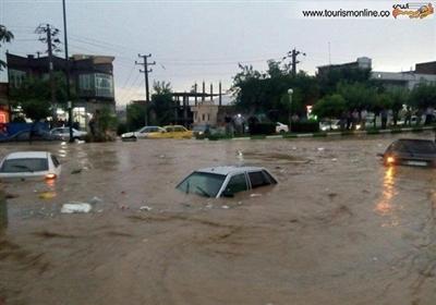 ایران کے شہر شیراز میں سیلاب نے تباہی مچادی
