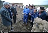 بازدید رئیس سازمان امور عشایری از عشایر سیلزده خراسان شمالی به روایت تصویر
