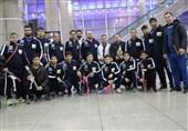 اعضای تیم کشتی آزاد زیر 23 سال ایران به کشور بازگشتند