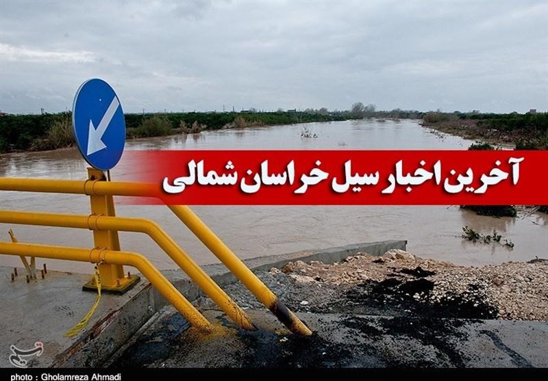 خسارت سنگین سیل به روستاهای خراسان شمالی / چند منزل مسکونی نیز دچار آبگرفتگی و تعداد زیادی دام تلف شد