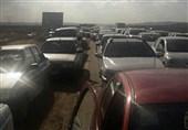 ترافیک در جاده قم - گرمسار؛ رانندگان احتیاط کنند