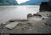 سیلاب شهر معمولان را زیر آب برد+ فیلم