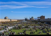 اصفهان| تغییر ساختار میدان امام (ره) صحت ندارد؛ ترمیم گنبد مسجد شیخ لطفالله با مکانیزم متفاوت