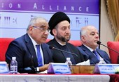 عراق|تلاش «حکیم» برای ایجاد اجماع در بین جریانهای سیاسی در راستای حمایت از عبدالمهدی