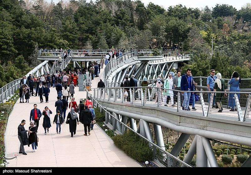 The Tabi'at Bridge: The Largest Pedestrian Overpass Tehran, Iran - Tourism news