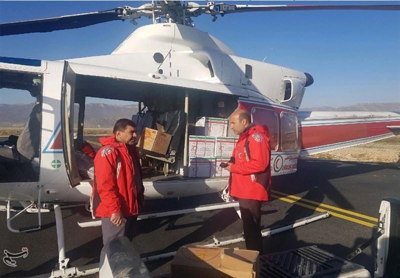 امدادرسانی هلال احمر به مردم سیلزده کهگیلویه و بویراحمد + عکس