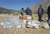 تصاویر/ ارسال محمولههای هلالاحمر برای کمک به سیلزدگان گلستان