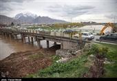"""قرارگاه """"دمونتاژ"""" پلهای غرب کشور در کرمانشاه راهاندازی شد"""