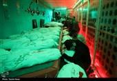 خوزستان|وداع خادمین شهدا با پیکرهای مطهر شهدای گمنام + تصاویر