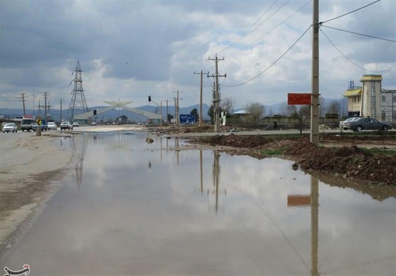 7 محور استان گلستان همچنان مسدود است؛ بارش باران پراکنده در جادههای گلستان