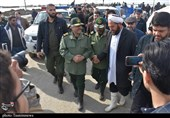 IRGC Commander Visits Flood-Affected Areas North of Iran for 2nd Time