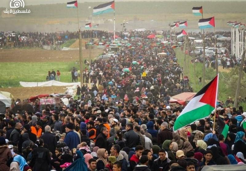 آماده شدن مردم غزه برای جمعه «آتش زدن پرچم رژیم صهیونیستی»