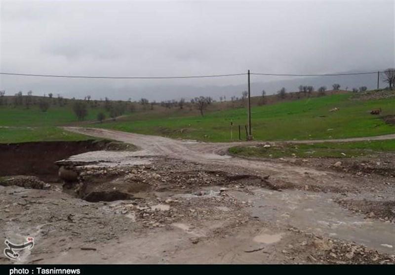 سپاه کردستان راههای ارتباطی کوهدشت شمالی را بازگشایی میکند