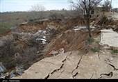 رانش زمین 4 میلیارد تومان به تأسیسات آب شرب روستایی گلستان خسارت زد