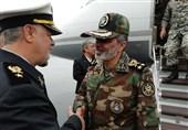 فرمانده کل ارتش وارد مناطق سیلزده استان گلستان شد