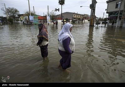 Relief Efforts Underway in Flood-Hit Northern City of Iran