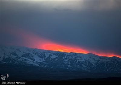 ارتفاعات برفی مشکین شهر - اردبیل