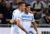 فوتبال جهان تساوی پرگل لاتزیو در آخرین بازی هفته سیوهفتم سری A