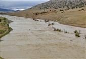 طغیان رودخانه مادیانرود و سد هاله؛ روستاهای جنوبی کوهدشت در خطر جدی هستند