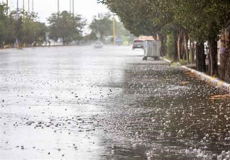 بارشهای رگباری و پراکنده خراسان رضوی را فرا میگیرد