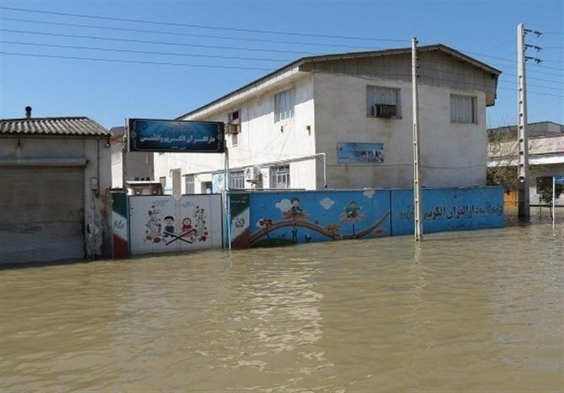 گزارش تسنیم از روند آمادهسازی مدارس سیلزده برای بازگشایی در روز شنبه