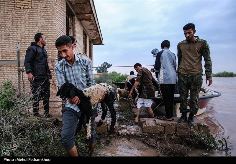 شدت بارشها باعث تخلیه 5 روستای جنوب کرمان شد