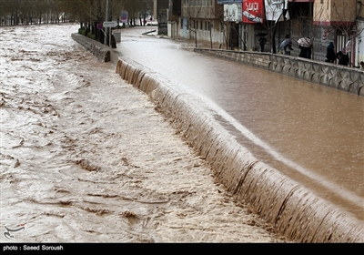 Flood Inundates City of Khorram Abad in Iran