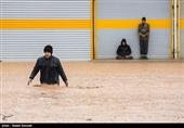 لرستان| سیلاب به 450واحد صنفی شهرستان کوهدشت خسارت زد