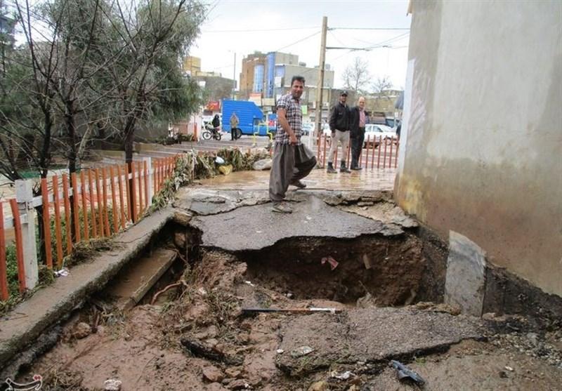 خسارت سیلاب به شهر کوهدشت بهروایت تصاویر