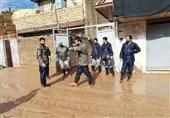 لرستان| تلاش گروههای جهادی برای پاکسازی منازل؛ غذای گرم بین سیلزدگان کوهدشت توزیع شد