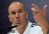 فوتبال جهان| زیدان: گل نزدن به رئال مادرید ضربه زده/ اِزار بازیکن شگفتانگیزی است