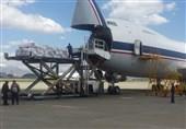 ارسال محموله 90 تنی وسایل امدادی به خوزستان توسط نهاجا