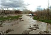 سیلاب به 600 هکتار از اراضی کشاورزی در سیلاخور دورود خسارت وارد کرد