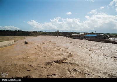 Flood Causes Damage in Iranian Western City of Poldokhtar