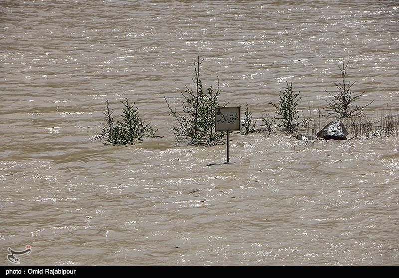مازندران| سیلاب خسارات بالایی به شهرستان سوادکوه وارد کرده است