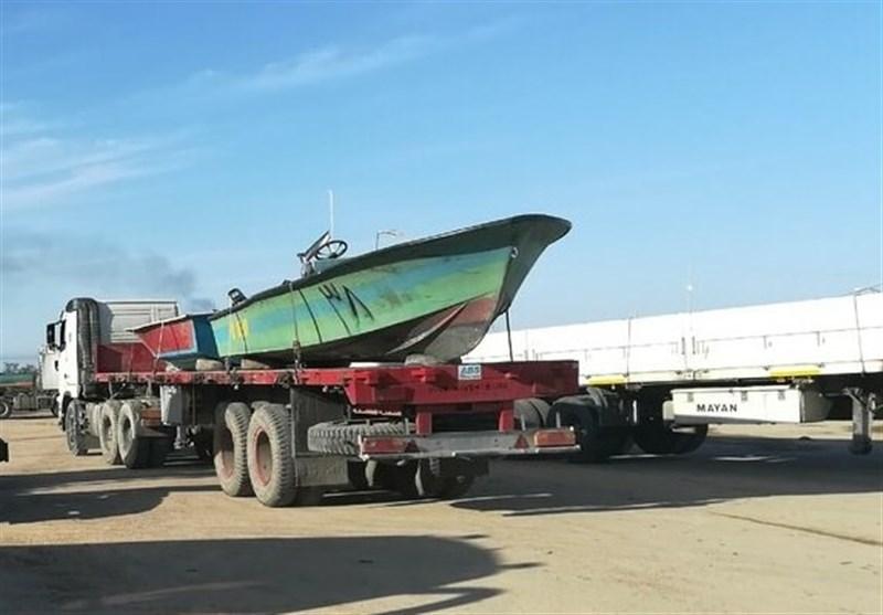 بوشهر شش شناور منطقه دوم دریایی سپاه برای امدادرسانی به سیلزدگان خوزستانی ارسال شد