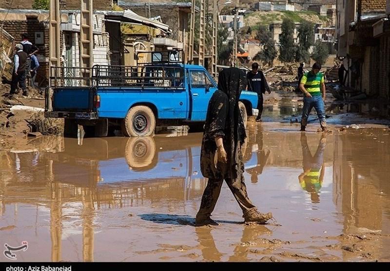 وضعیت شهرستان سیل زده پلدختر به روایت تصویر