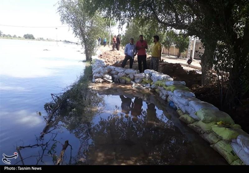 دشت آزادگان همچنان غرق در آب؛ 5 سیلبند در مچریه نیازمند ترمیم است