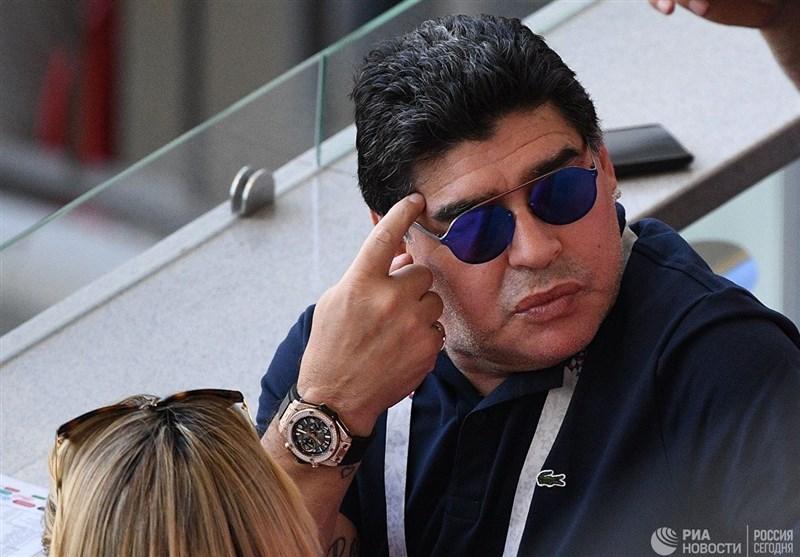 فوتبال جهان|بازداشت مارادونا در فرودگاه بوینسآیرس