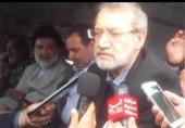 لاریجانی در دزفول: ابعاد و شدت مسائل استانهای خوزستان و لرستان در تهران بررسی میشود