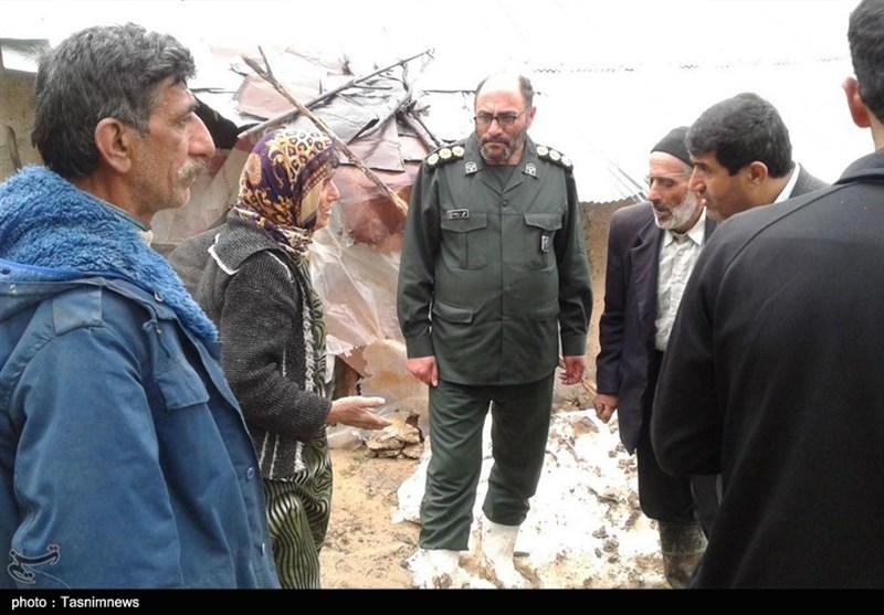 حضور 14 روزه بسیج سازندگی اردبیل در مناطق سیلزده کشور