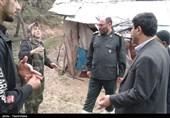 خدمات رسانی گروه جهادی سپاه حضرت عباس(ع) استان اردبیل در مناطق سیل زده به روایت تصویر