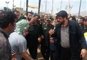 گفتوگوی چهره به چهره فرمانده سپاه با سیلزدگان لرستان + عکس و فیلم