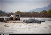 کرمان| طغیان رودخانههای فصلی و جاری شدن سیلابها خسارت زیادی به فاریاب وارد کرد